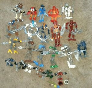 LEGO BIONICLE Huge Lot 22 figures vintage early waves parts etc. Toa