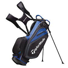 TAYLORMADE SELECT STAND BAG - BLACK/BLUE- NEW!