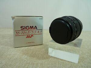 Sigma 35-70mm f/3.5-4.5 Zoom Lens for Praktica - Thames Hospice