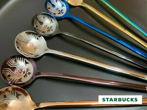 HOT Starbucks Coffee Mug Spoon Kitchen Bar Sakura Cup Spoon Set Limited Edition