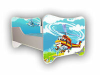 Children Bed, Toddler Junior Bed For Boys Girls Kids + mattress size 140x70cm