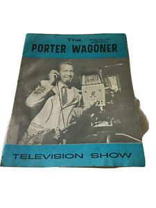 1960's Country Music Magazine The Porter Wagoner Show Song & Picture Book