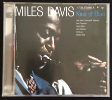 MILES DAVIS   KIND OF BLUE   ℗1959 COLUMBIA   CD-REMASTERED ℗1997 SONY   A MUST!