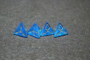 MTG Amonkhet Blue D4 4 Sided Promo Dice X 4