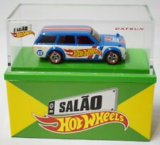 SOLD OUT !!! Hot Wheels '71 Datsun Bluebird 510 Wagon 2017 Brazil Convention