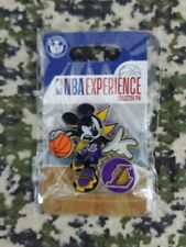 Lakers Mickey Mouse Nba Experience Collector Pin