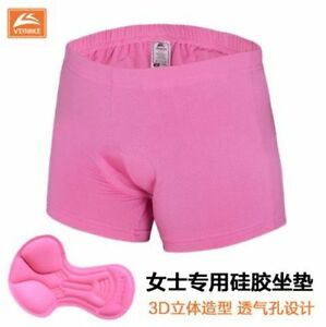 Women Man Lady Sports Cycling Bike Bicycle Shorts Underwear Gel 3D Padded