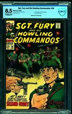 Sgt. Fury and His Howling Commandos #58 CBCS VF+ 8.5 Off White to White