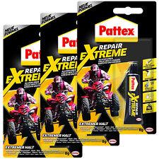 3x PATTEX Repair Extreme Alleskleber Gel 8g PRXG8 wasserfest farblos extra stark