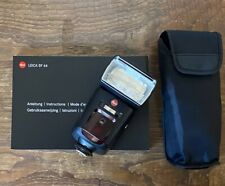 Leica Flash SF 64 with instructions and pouch