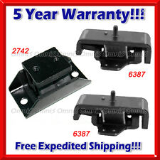 M264 Fit 1983 Nissan 720 2.2L(GAS)/ 83-85 2.4L, 4WD Motor & Trans Mount Set 3pcs