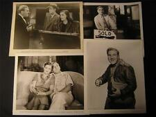 William Bendix VINTAGE 8 Assorted MOVIE PHOTO LOT 27N