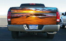 Beautiful Beach Sunset Truck Tailgate Wrap Vinyl Graphic Decal Sticker Wrap