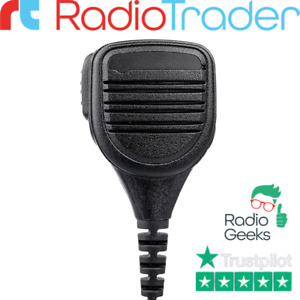 Heavy Duty Remote Speaker Microphone Compatible With Icom 14 Pin Multi Connector