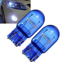 2Pcs 7443 W21/5W T20 R580 Halogen White Turn Signal Stop Brake Tail Light Bulb
