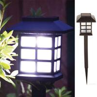 Solar LED Lawn Lamp Garden Light Outdoor Underground Landscape Light Romantic