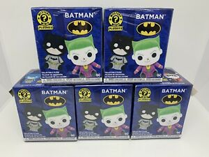 5 x BATMAN FUNKO MYSTERY MINIS PLUSHIES COLLECTABLE PLUSH BLIND BOXES BRAND NEW