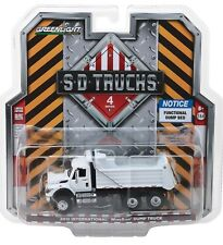 1:64 GreenLight *SD TRUCKS 4* 2017 International WorkStar WHITE Dump Truck NIP!