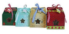Geschenkboxen Weihnachten Schachtel Karton Verpackung 4er Set #1196