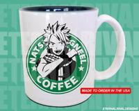 Fairy Tail Natsu Starbucks Anime Manga Japanese Insipred Cartoon Geek Nerd Mug