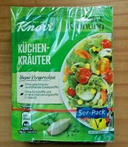 Knorr Salatkrönung Küchen-kräuter (5,25/100g) 5 X 8g