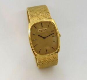 c.1976 Patek Philippe Golden Ellipse Watch, 18K, Ref. 3667/4, Cal. 177, See Desc