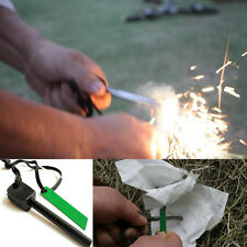 Magnesium Flint Stone Fire Starter Emergency Outdoor Survival Camping Tool Kit