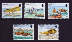 Jersey 2005. Rescue Craft  SG1185/9  MNH