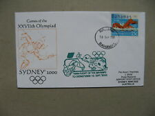 BAHAMAS, cover spec flight Olympic Team 2000, Olympic Games Sydney