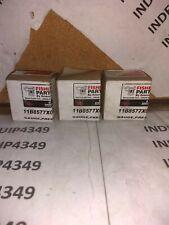 1 lot of 3 Fisher Controls 11B4040X022 Pressure Gauge