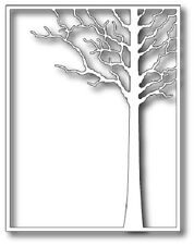"MEMORY BOX 99413 ""Forest Tree Frame"" 100% Steel Craft Die Size4.25 x 5.5 in."