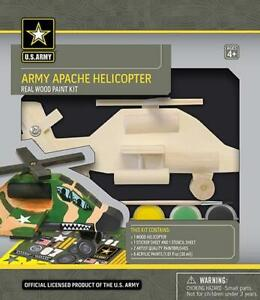 Masterpieces Army Apache Wood Kit MST21525