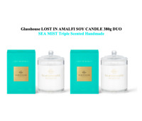 NEW Glasshouse Lost In Amalfi Sea Mist 380gx2 Triple Scented Soy Candle Handmade