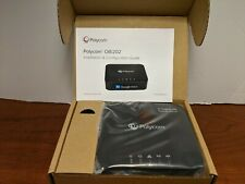 Polycom 2200-49522-001 VoIP Telephone Adapter 2-Phone Ports, Router & USB Obi202