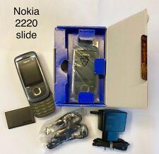 Nokia  Slide 2220 - Graphite (Ohne Simlock) Schiebe-Handy Neu