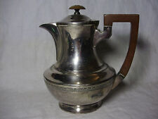 Walker & Hall 1 1/2 Pinta Silver Plate caffettiera ART DECO DESIGN