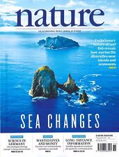 nature Heft 36/2017 v. 7. September 2017: Sea Changes +++ wie neu +++