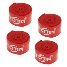 4x Cinta de Neumáticos Antipinchazos para Protección Avanzada de Bicicleta