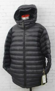 Burton Evergreen Synthetic Down Snowboard Jacket Men's Small True Black New