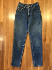 Vintage 90s B.U.M. Equipment Denim Jeans High Rise Women's Size 9/10 Made In Usa