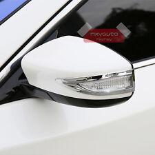 New 2pcs Chrome Door Mirror Singal Light Trim For Nissan Altima 2013 2014 2015