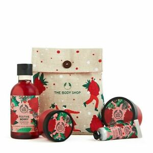 The Body Shop Festive Berry Little Gift Pouch