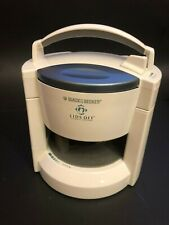 Black & Decker JW200 Lids Off Automatic Jar Opener White Kitchen Help Tested