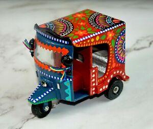 Rickshaw - Hand Painted Truck Art, Beautiful Pakistani Truck Art Miniature/Model