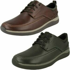 Mens Unstructured by Clarks Lace Up Shoes 'Garratt Street'