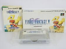 FINAL FANTASY V 5 FF5 Ref/ccc Super Famicom Nintendo sf