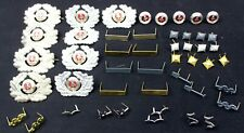 LARGE LOT OF DDR NVA EAST GERMAN ARMY BADGES (AUC)