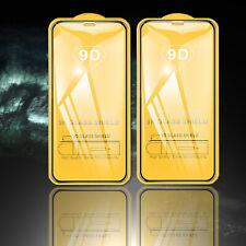 2 PELLICOLA VETRO TEMPERATO PER APPLE IPHONE 12/11/X/S/XR/PRO/MAX CURVO TOTALE