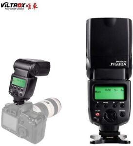 VILTROX JY680A SPEEDLITE Camera Flash Light  with Backlight and LCD screen