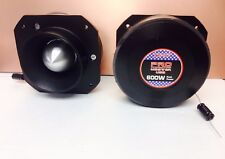 "2X PRO PROMASTER TW47 3"" 1200W Dome Bullet Car Super Titanium Audio Tweeters"